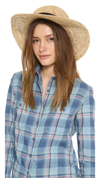 Bop Basics Chunky Crochet Hat - Natural at Shopbop / East Dane
