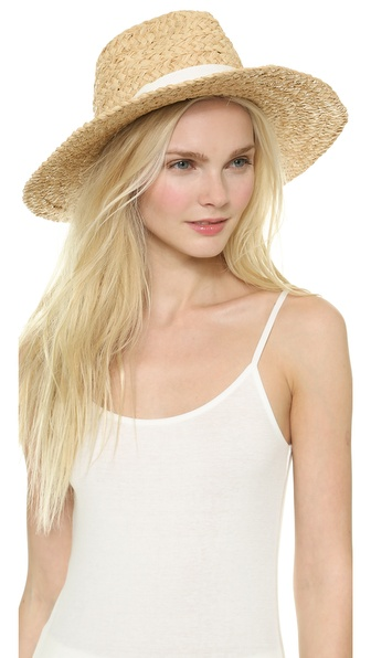 Bop Basics Thick Raffia Braid Hat - Natural at Shopbop / East Dane