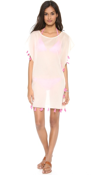 Bop Basics Lulu's Fringey Cover Up Dress