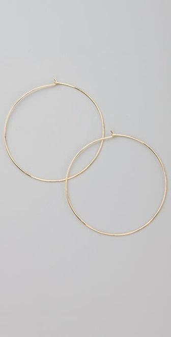 Bop Bijoux New Large Gold Hoops