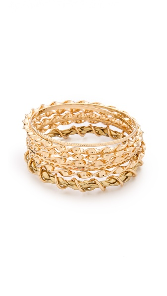 Bop Bijoux Twisted Bangle Set