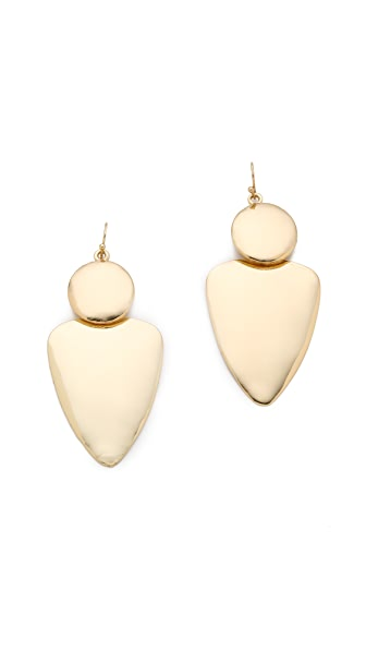 Bop Bijoux Smooth Geometric Earrings