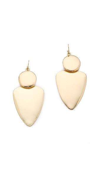 Bop Bijoux Smooth Geometric Earrings