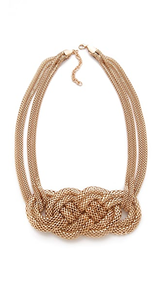 Bop Bijoux Horizontal Braid Necklace
