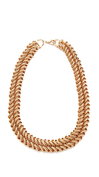 Bop Bijoux Zipper Chain Necklace