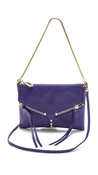 Botkier Legacy Smooth Mini Convertible Bag - Ultra Violet