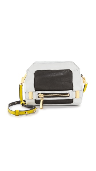 Botkier Honore Cross Body Bag - Citron Color Block