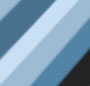Cross Blue/Azure Flash Silver