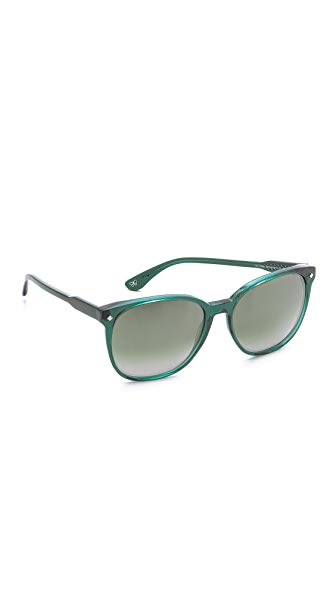 Bottega Veneta Bottega Veneta Gradient Sunglasses (Transperant)