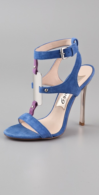 Boutique 9 Detective Suede High Heel Sandals
