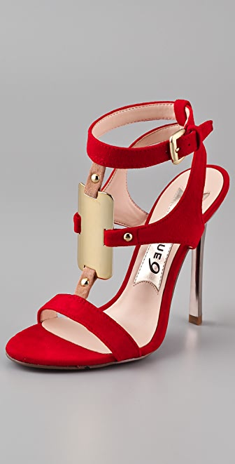 Boutique 9 Detective Suede High Heel Sandals