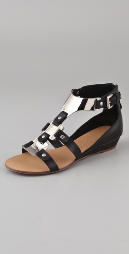 Boutique 9 Porsha Metal T Strap Sandals
