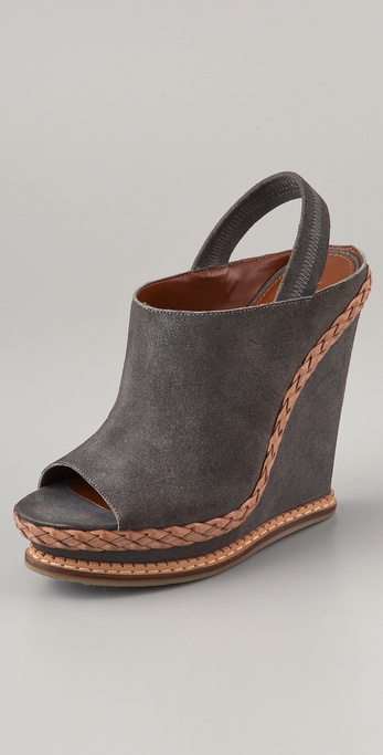 Boutique 9 Georgetta Suede Wedge Sandals