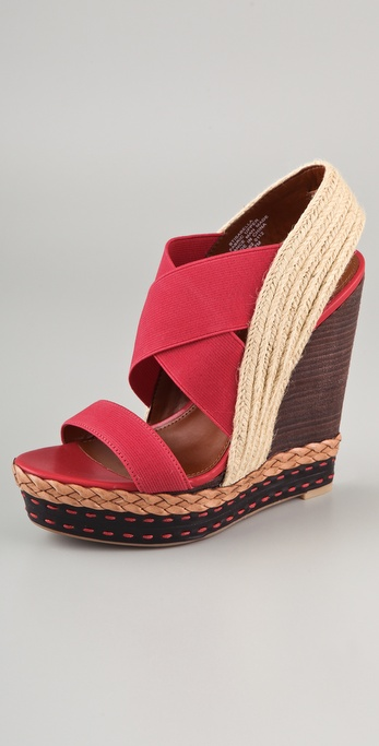 Boutique 9 Isabella Elastic Wedge Sandals