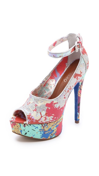 Boutique 9 Pali Splatter Paint Pumps
