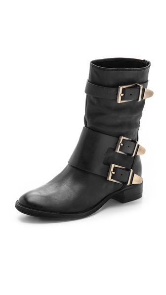 Boutique 9 Radannah Low Heel Buckle Boots