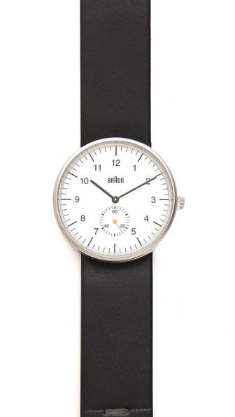 Braun Classic Watch with Seconds Subdial