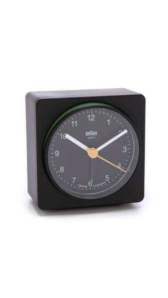 Braun Square Alarm Clock