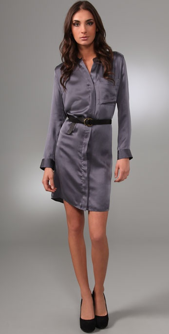Brochu Walker Belted Shirtdress