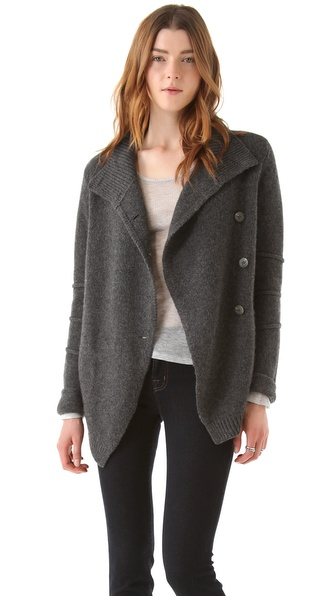 Brochu Walker Crossover Cashmere Cardigan