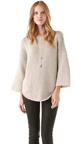 Brochu Walker Hand Knit Pullover Sweater