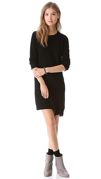Brochu Walker Angled Cashmere Dress