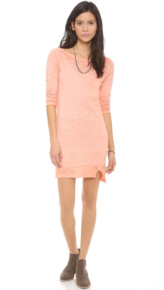 Brochu Walker Boat Neck Dress