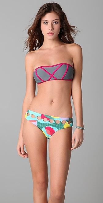 Brette Sandler Swimwear Molly Bandeau Bikini