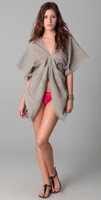 Brette Sandler Swimwear Heather Butterfly Cover Up Tunic