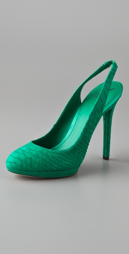B Brian Atwood Felicite Sling Back Pumps