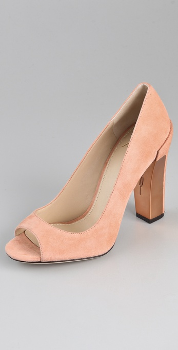 B Brian Atwood Pavani Suede Pumps