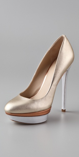 B Brian Atwood Fontanne Platform Pumps