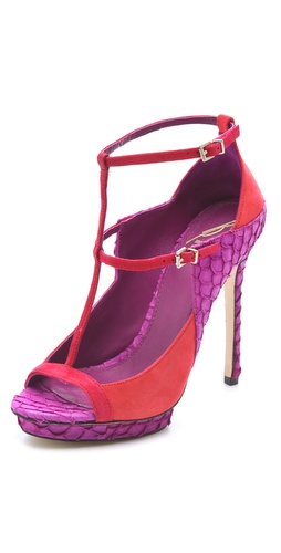 B Brian Atwood Campisa Suede Pumps