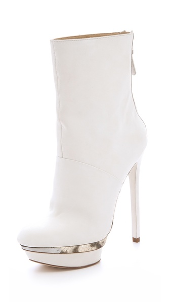 B Brian Atwood Fuveau Platform Booties