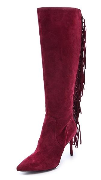 B Brian Atwood Mella Fringed Boots