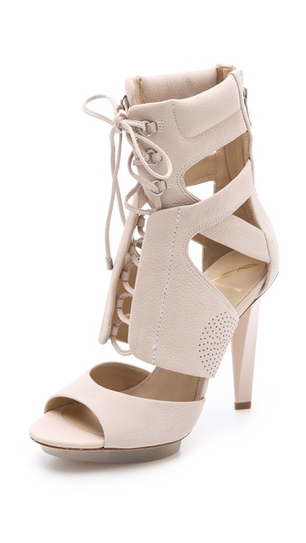 B Brian Atwood Deliziosa Laced Sandals