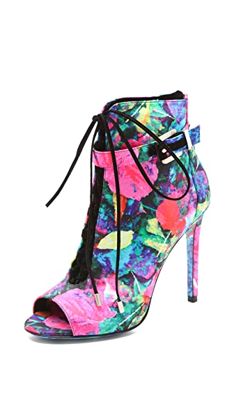 B Brian Atwood Linford Floral Booties