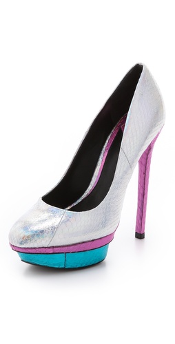 B Brian Atwood Fontanne Platform Pumps at Shopbop.com
