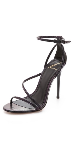 B Brian Atwood Labrea Asymmetrical Sandals