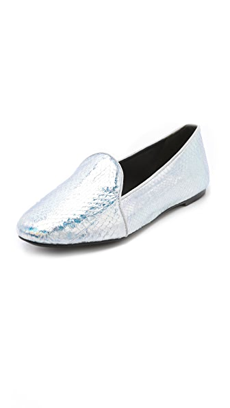 B Brian Atwood Claudelle Menswear Flats