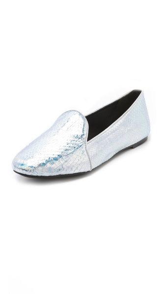 B Brian Atwood Claudelle Menswear Flats