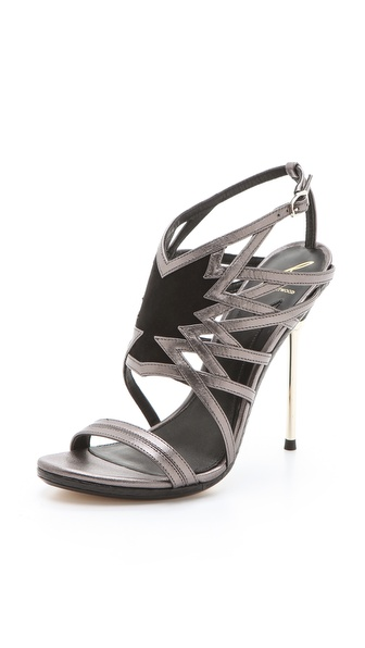 B Brian Atwood Marseille Mix Media Sandals