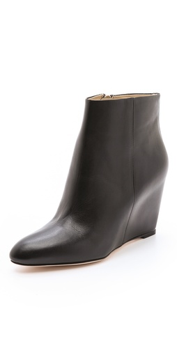 B Brian Atwood Bellaria Wedge Booties at Shopbop / East Dane