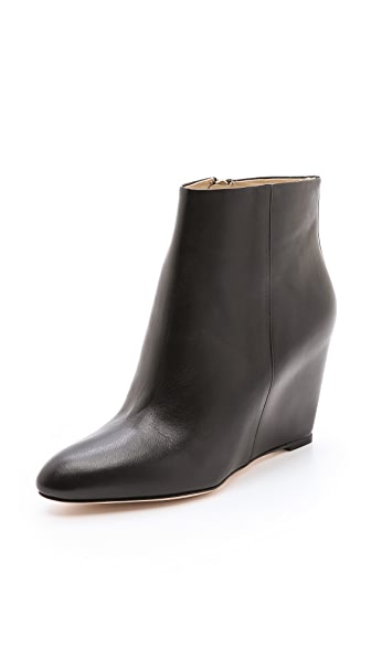 B Brian Atwood Bellaria Wedge Booties