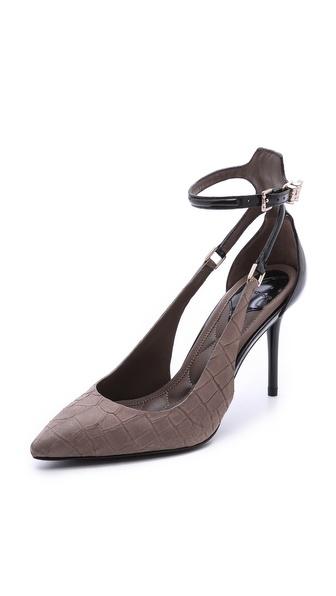 B Brian Atwood Marella Ankle Strap Pumps