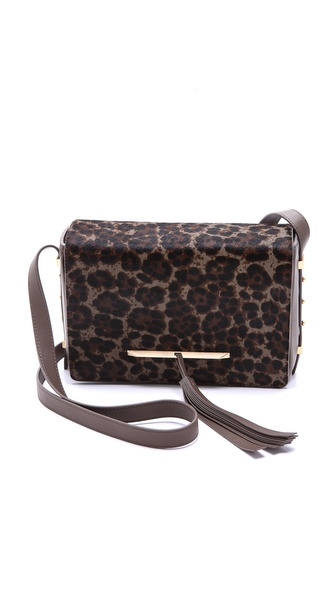 B Brian Atwood Brigitte Haircalf Cross Body Bag