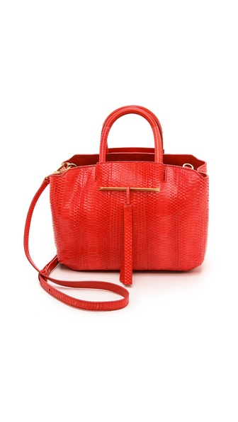 B Brian Atwood Gloria Small E/W Tote with Strap