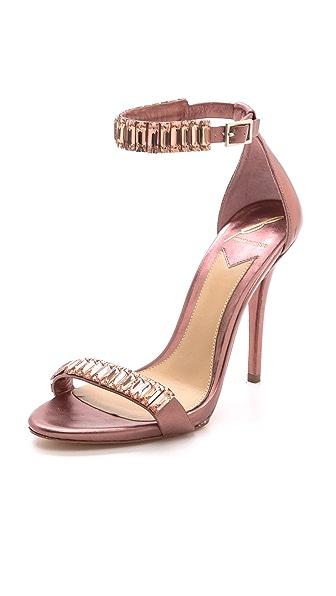 B Brian Atwood Ciara Jeweled Sandals