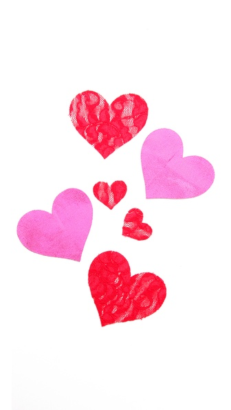 Bristols 6 Love Lace Nippies