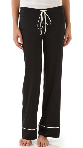 BRULEE Noir Pajama Pants